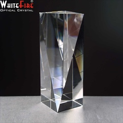 Army Trophy engraved in Optical Crystal.