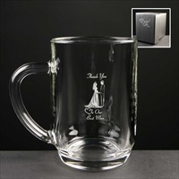 Crystal Gifts Tankards, printed for many celebrations.