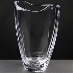 Crystal Vase for Ladies or Mixed Bowling Club Trophy.