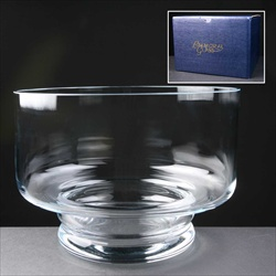 Balmoral Glass Fruit Bowl, for glass engraving.