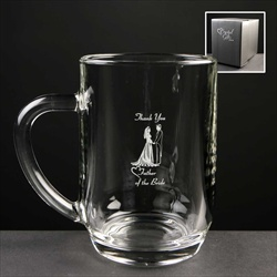 Printed 1pt Tankard gift for Father of The Bride.