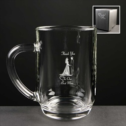 Printed 1pt Tankard gift for Ushers.