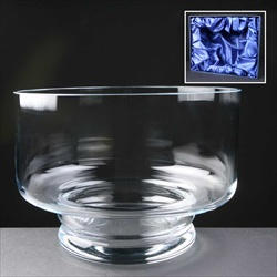 'Balmoral Glass' Heeled Fruit Bowl.