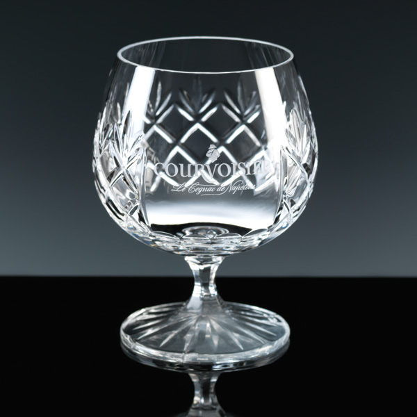 Lead Crystal Brandy Balloon, for engraving.
