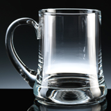 The Balmoral Glass Tankards are ideal for engraving with a bespoke message for an Anniversary Gift for Him.