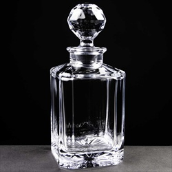 Crystal Whisky Decanter.