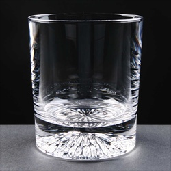 Crystal Tumbler, engraved for Monthly Golf Medal.