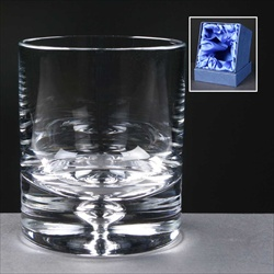 """Balmoral Glass"" Tumbler, engraved for Golf Prize."