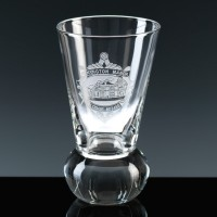 Balmoral Glass Masonic Firing Glass 4oz, Single, Satin Boxed