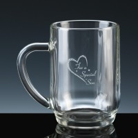 Crystal Gifts 1 Pint Tankard Special Son, Single, Silver Boxed