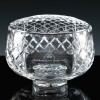 Inverness Crystal Traditional Panelled 7 inch Rose Bowl, Single, Brown Boxed